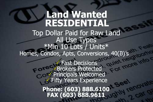 Land Wanted Residential