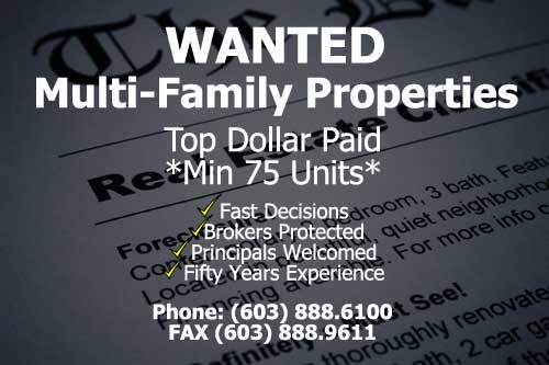 Multi-Family Propeties Wanted